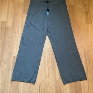 Talbots grey knitted trouser pants